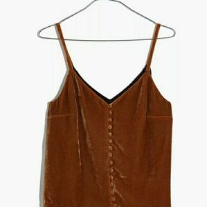Madewell Button Down Cami